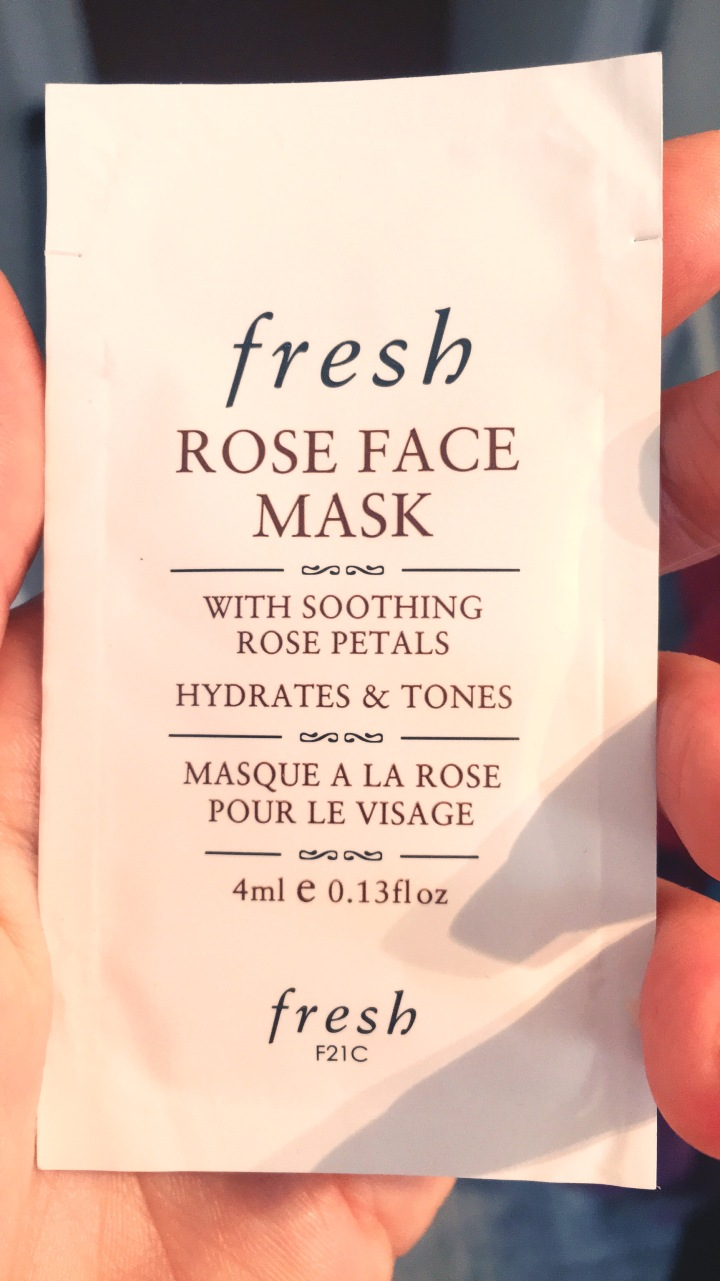 FRESH- Masque à la rose