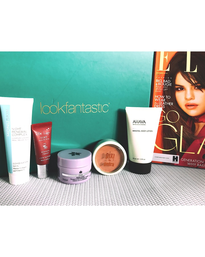 Box Beauté Octobre 2018 LOOKFANTASTIC Vs BIRCHBOX