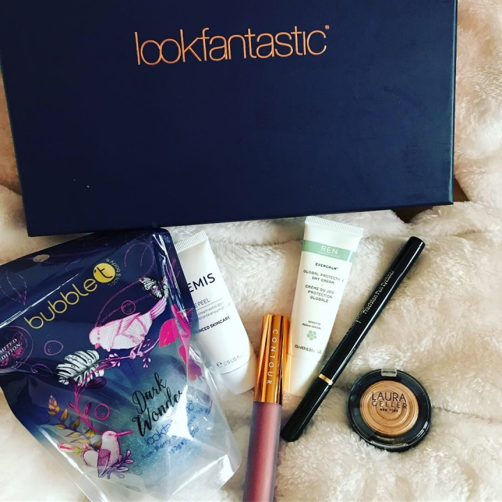 Box Beauté Novembre 2018 LookFantastic Contre BirchBox