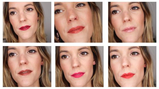 Bien choisir son rouge à lèvres + 20 looksdifférents